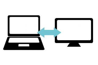 待合室デジタルサイネージ「メディキャスター」との情報連動で、更新依頼の手間が省ける